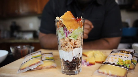 BBQ Ranch Parfaits with Chef Jerneard