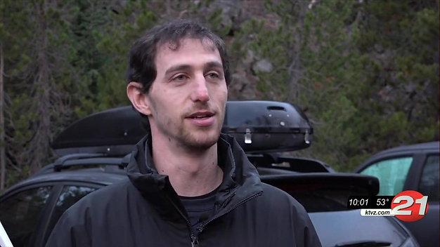 KPTV 12 Interview: Oregon Glacier Funeral