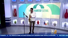 Saxophonist Braxton Cook Performs Live In Studio