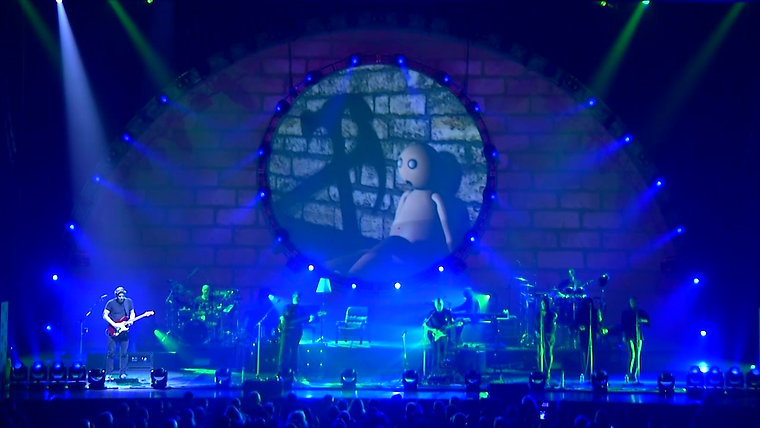 """Screen Animations for Brit Floyd """"Hey You"""" (excerpt / guitar solo)"""