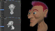 """Blender """"Head Sculpt Test"""""""