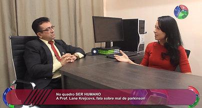 PROGRAMA ACONTECE COM MARCELO MAIA  entrevistando a Dra. Lane sobre o Mal de  Parkinson