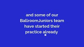 Treading The Boards @ BallroomJuniors