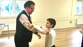 Live Master Class at the BallroomJuniors Club with Mr David Hogg