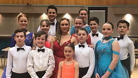 BallroomJuniors dance in Kristina Rihanoff's UK show 'Dance To The Music