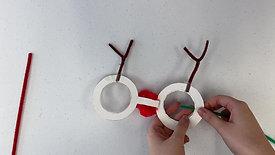 Reindeer Glasses Tutorial