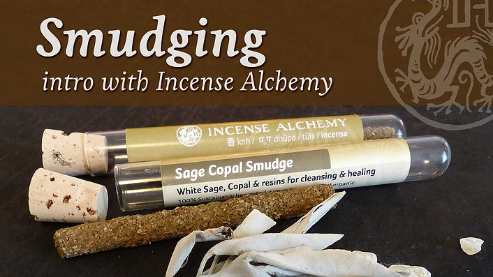 Smudging with Incense