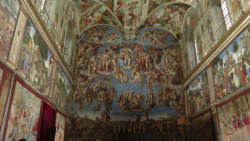 A sneak peek at an exclusive, private, prayerful evening in the Sistine Chapel...