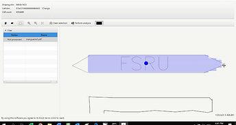 Onshore effect of FSRU explosion modelling