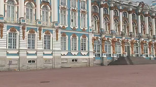 Catherine's Palace at Tsarskoe Selo