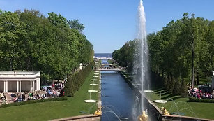 First Level in the Cascade Fountain