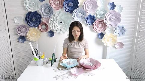 Видеокурс Настенные Цветы