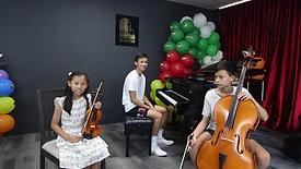 Tran's Family trio