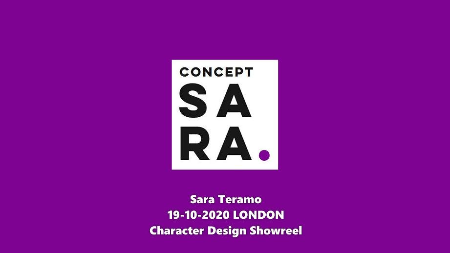 Showreel - Sara Teramo @conceptsara