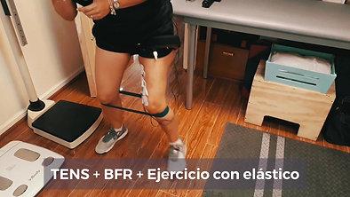 TENS + BFR + Elástico