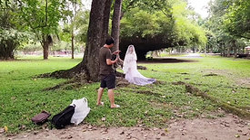 Couple from Singapore - Maternity Photography Behind the scenes