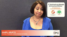 Isabel Aburto - INSTITUTO NACIONAL HERIDAS