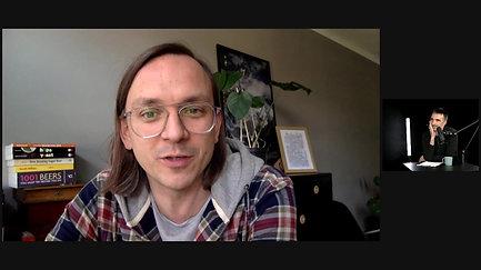 krótka, bardzo przyjemna i dobra rozmowa z Piotrem Sosinem (Trzech Kumpli - Browar Lotny) o rzemieślniczej dobrej Robocie.
