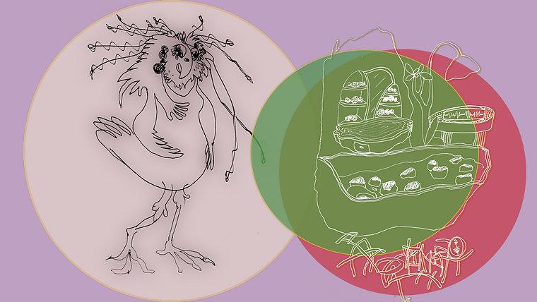 Création / personnages et lieux  / dessins et animations - Conte pour enfant