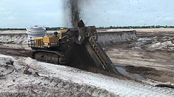 Wolfe DWT630 Dewatering Trencher Pipe Installation