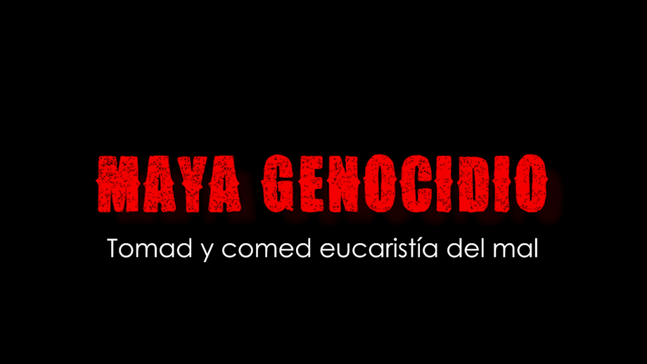 Maya Genocidio