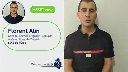 Florent Alin - Chef du service Hygiène, Sécurité et Conditions de Travail au SDIS de l'Oise