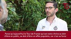 Interview de Pierre-Maurice Courtade repreneur du Tour de Savoie Mont-Blanc