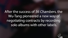 Celebrating Wu Tang Clan's 25th Anniversary of 36 Chambers