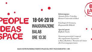 Inaugurazione seconda edizione #BaLab