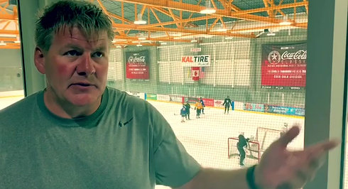 BILL PETERS - HEAD COACH - CALGARY FLAMES