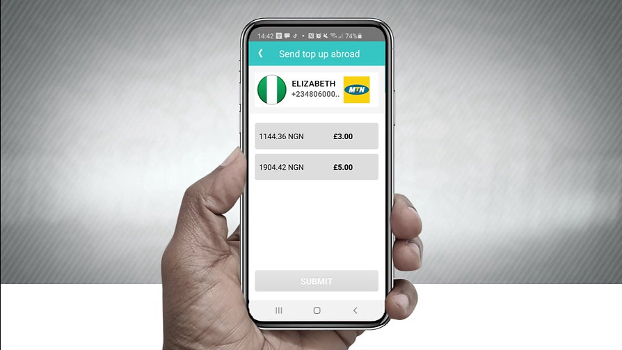 SEND THE GIFT OF AIRTIME