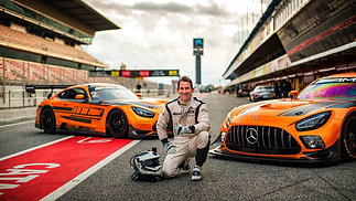 Philippe Chatelet AMG GT3 Barcelona