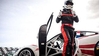 Philippe Chatelet démo lap Magny cours F1 Porsche 991 Cup