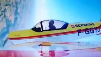 Philippe Chatelet testing aerobatic flight Cap10