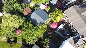 Über unsere Weitläufige Gartenanlage kann man sich besser einen Überblick von oben verschaffen