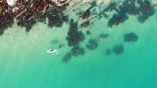 Collins Flat Beach - Drone Short Video