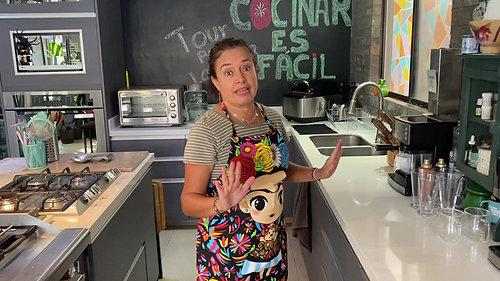 Tour por la Cocina de Claudia