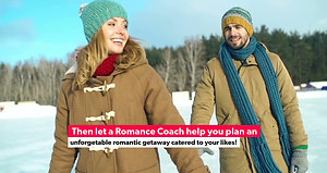 Winter Romantic Getaway Together