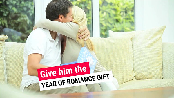 Year of Romance Gift for Him