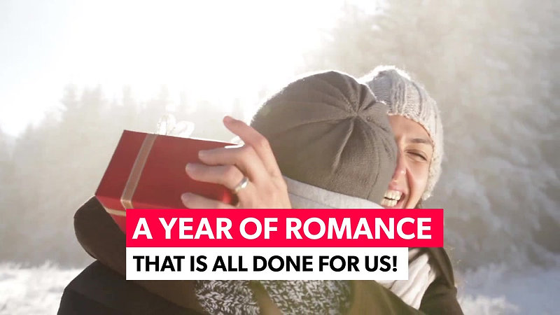 Year of Romance Red Present