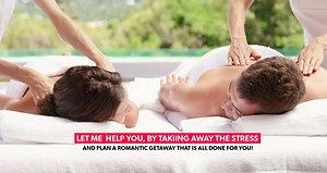 Romantic Getaway Couples Massage