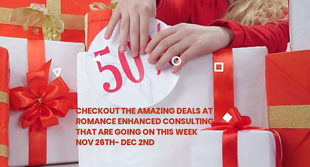 50% off Black Friday Deals with presents