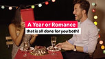 Best Gift=Year of Romance Package for him