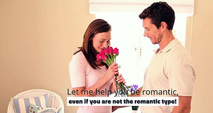 Romance Coach can help you be romantic!