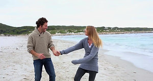 Romantic Getaway Plan couple on beach