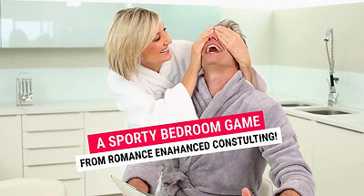 Surprise him with a Sporty Bedroom Game