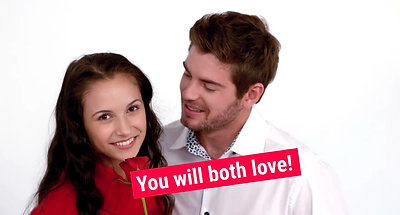A Romantic gift you will both love= The Kiss and Tell Bedroom Game