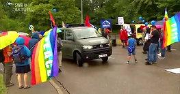 20180721 Demo gegen NATO-Logistik-Kommando, JSEC, in Ulm