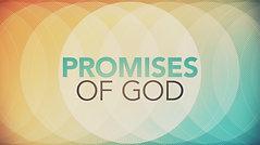 Promises of God week 3 Online Service