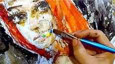 Watercolor Demonstration by Moazzam Ali